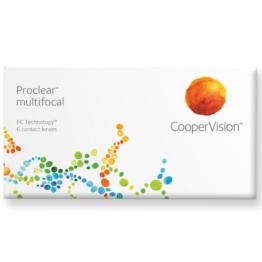 Proclear multifocal Gleitsicht Monatslinsen weich, 6 Stück / BC 8.7 mm / DIA 14.4 / ADD  +2.00 D / -2,50 Dioptrien - 1
