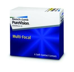Purevision Multifocal Monatslinsen weich, 6 Stück / BC 8.6 mm / DIA 14.0 / HIGH ADD / +1,75 Dioptrien - 1