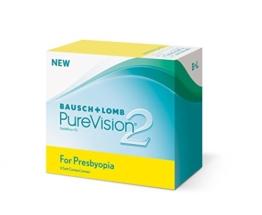 PureVision2 HD for Presbyopia Monatslinsen weich, 6 Stück / BC 8.6 mm / DIA 14.5 / ADD HI / -05.50 Dioptrien - 1