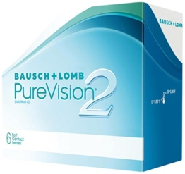 PureVision2 HD Monatslinsen weich, 6 Stck / BC 8.60 mm / DIA 14.00 mm / -01.25 Dioptrien - 1