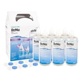 ReNu MPS Pflegemittel für weiche Kontaktlinsen, 6-Monatspack (6 x 240ml + 6 Behälter) - 1