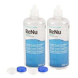 ReNu MultiPlus Pflegemittel für weiche Kontaktlinsen, Twin Box (2 x 360 ml) - 1