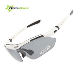 ROCKBROS Bike Polarisierte Fahrradbrillen Radfahren Sportbrillen Sonnenbrillen Goggles Sunglasses CS011 - 1