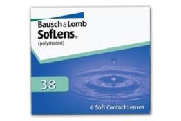 SofLens 38 Monatslinsen weich, 6 Stück / BC 9.00 mm / DIA 14.00 mm / -05.50 Dioptrien - 1