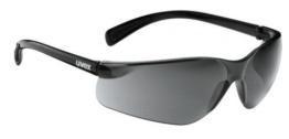 Uvex Flash Fahrrad / Sport Brille schwarz (black shiny/smoke) S5302792210 - 1