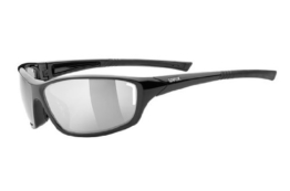 Uvex Sonnenbrille Sportstyle 210, Black, One size, 5306052216 - 1