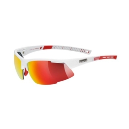 Uvex Sportsonnenbrille Radical Pro, White Red, One Size, 5304828316 - 1