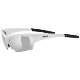 Uvex Sportsonnenbrille Radical Pro, White Red, One Size, 5304828316