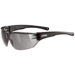 Uvex Unisex - Erwachsene Sportsonnenbrille Sportstyle 204, smoke/lens smoke, One Size, 5305252110 - 1