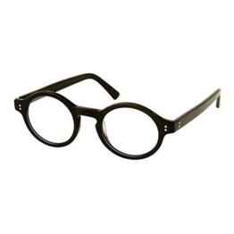 Zauberer Schule Junge Kostüm Rundes Gestell Brillen - 1