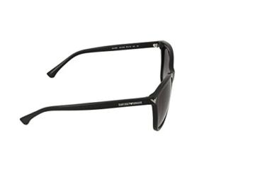 Armani Unisex  Sonnenbrille EA4060, , , , , Gr. Large (Herstellergröße: 56), Schwarz (black 50178G) - 3