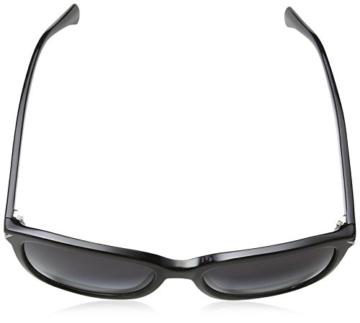Armani Unisex  Sonnenbrille EA4060, , , , , Gr. Large (Herstellergröße: 56), Schwarz (black 50178G) - 4