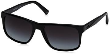 Emporio Armani Unisex-Erwachsene Sonnenbrille Earmani 4071, Schwarz (Black 50178g), 56 - 1