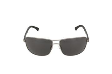 Emporio Armani Unisex Sonnenbrille EA2033, Schwarz (Gunmetal Rubber 313087), X-Large (Herstellergröße: 64) - 2