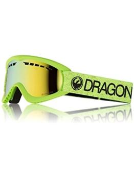 Herren Schneebrille Dragon DX Green Goggle - 1