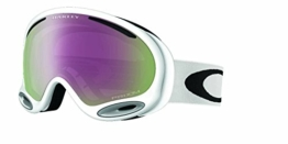 Oakley A Frame 2.0 Snow Goggles One Size Polished White ~ Prizm Hi Pink - 1