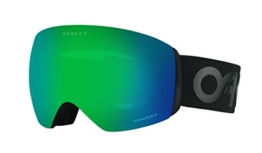 Oakley Flight Deck Skibrille Unisex, uni, FLIGHT DECK, Factory Pilot Blackout/Prizm Jade Iridium, one size - 1