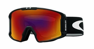 Oakley Line Miner Skibrille, Matte Black/Prizm Torch Iridium, One Size - 1