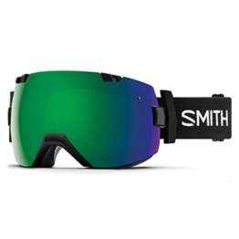 SMITH Erwachsene I/OX Skibrille, Black, L - 1