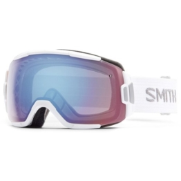 Smith Erwachsene Schneebrille Vice, White / Blue Sensor Mirror, M00661ZJ799ZF-ass - 1
