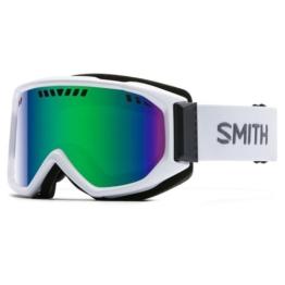 SMITH Erwachsene Skibrille Scope Pro - Mehrfarbig (Grün Sol-X Mirror/Weiß/Schwarz),One Size - 1