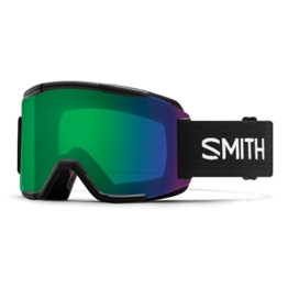 SMITH Erwachsene Squad Skibrille, Black, One size - 1
