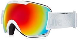 Uvex Erwachsene Downhill 2000 FM Skibrille, White Mat, One Size - 1