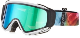 UVEX Erwachsene Jakk Take Off Skibrille, White Mat, One Size - 1