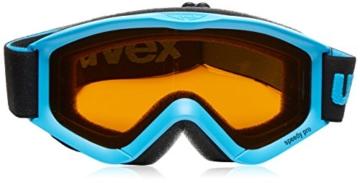UVEX Kinder Skibrille Speedy Pro, blau, One Size - 4
