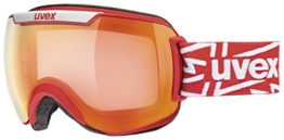 UVEX Skibrille downhill 2000 VM,VLM (Vario-light-mirror), Rot (Red Mat/Ltm Red) - 1