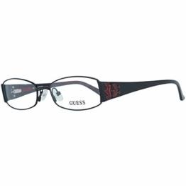 Guess Damen Brille Gu2249 B84 52 Brillengestelle, Schwarz, - 1