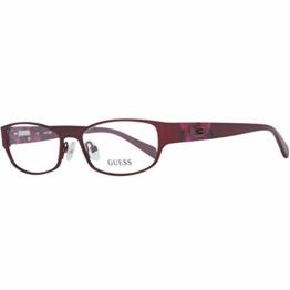 Guess Damen Brille Gu2412 O92 52 Brillengestelle, Rot, - 1