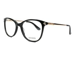 Guess Unisex-Erwachsene GU2632 005 52 Brillengestelle, Schwarz (Nero), - 1